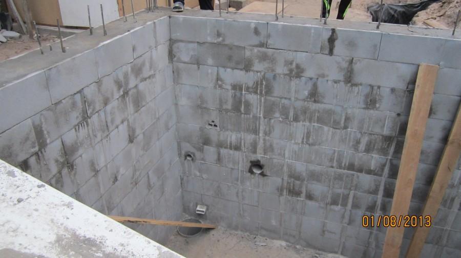 стена с закладными