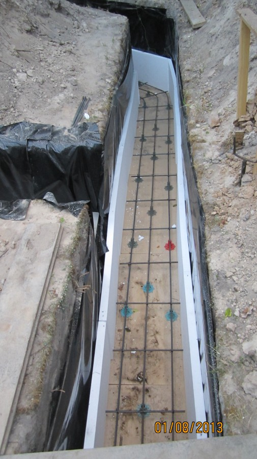бетонная подушка