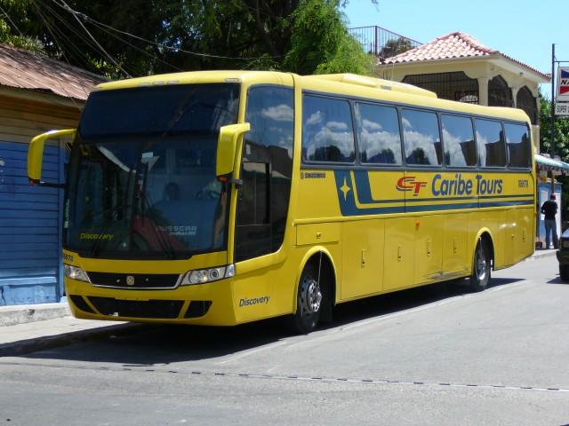 междугородние автобусы в Доминиканской республике, карибе турс