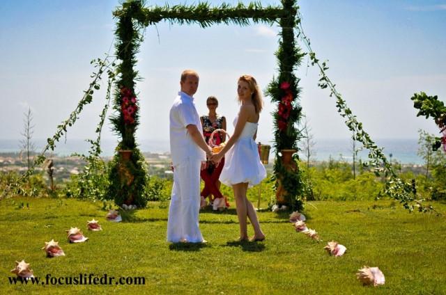 официальная свадьба в Доминиканской республике, легальная свадьба