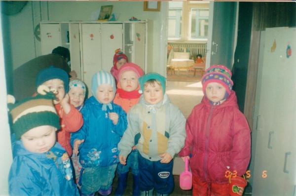 Илья Доможиров в детском саду Машенька