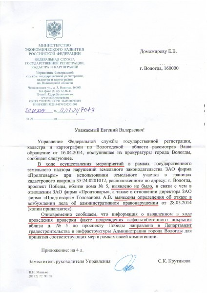 Проверка Продтоваров и Александра Голованова  (1)