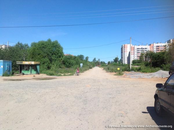 Вологда. Карлда Маркса и Фрязиновского (8)