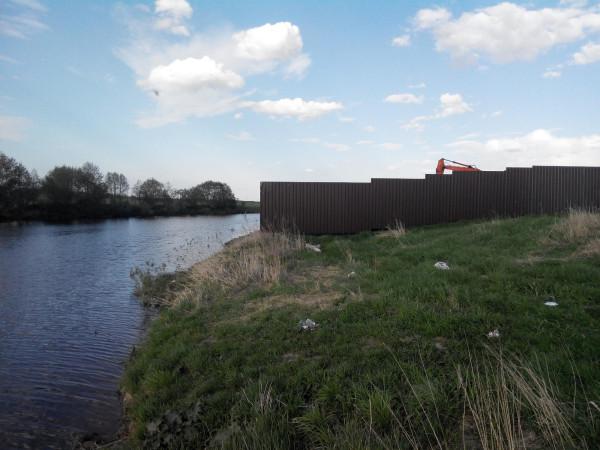 Закрытый доступ к реке Тошне