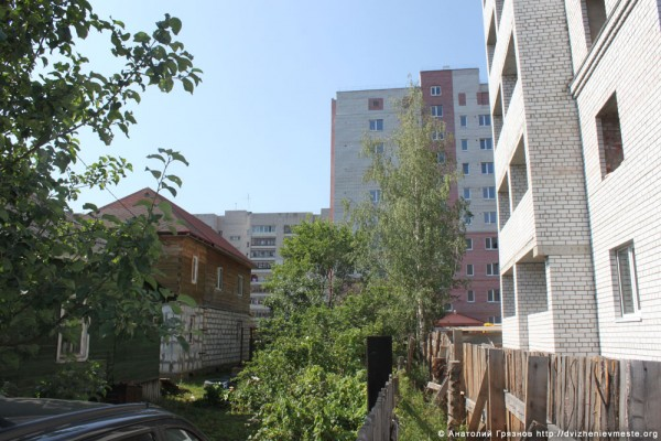 Вологда. Застройка на Шескснинской-Череповецкой (12)