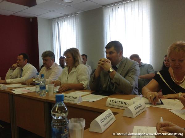 Круглый стол в Общественной палате Вологодской области по проблеме мелкорозничной торговли (2)