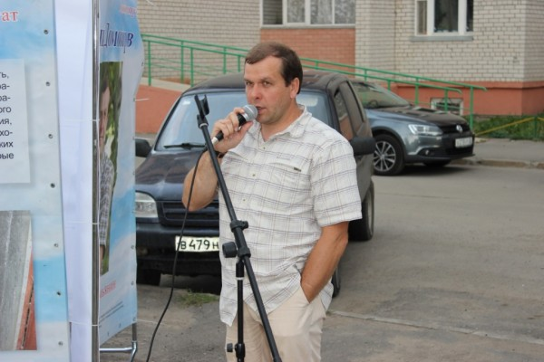 Евгений Доможиров на первой открытой встрече с избирателями (2)