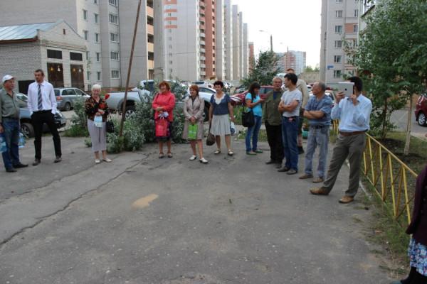 Евгений Доможиров на первой открытой встрече с избирателями (3)