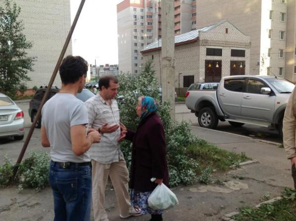 Евгений Доможиров на первой открытой встрече с избирателями (6)