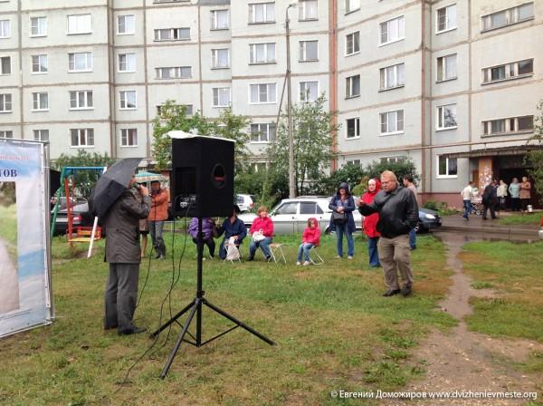 Выборы Вологодской городской Думы. Встречи. 27 августа  (1)