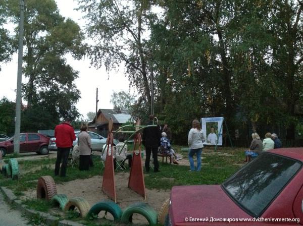 Выборы Вологодской городской Думы. Встречи. 10 сентября  (2)