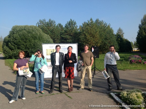 Выборы Вологодской городской Думы. Встречи. 11 сентября  (3)