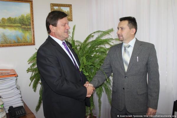 Александр Волосков и Евгений Молотов