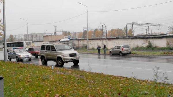 сбили пешехода на Можайского в Вологде 29.09 (6)