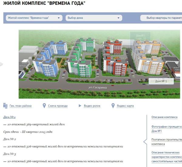жилой комплекс Времена года. Вологда