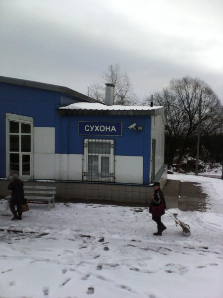 Последняя электричка в Вожегу. Сухона