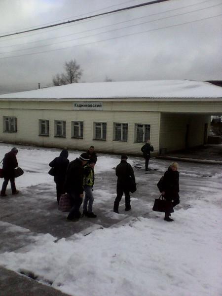 Последняя электричка в Вожегу. станция Кадниковский