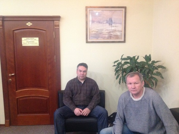 Алексей Кощеев и Евгений Титов