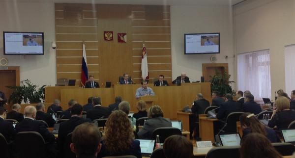 Евгений Доможиров на 37 сессии ЗСО
