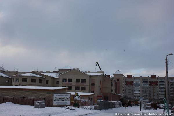 Детский сад на улице Фрязиновской. 27 декабря 2014 года (1)