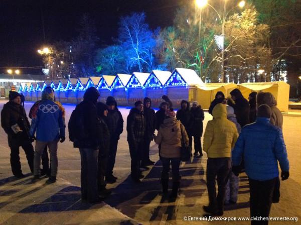 Вологда. площадь Революции. 30.12.2014