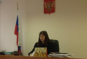 Судья Евгения Бахарева
