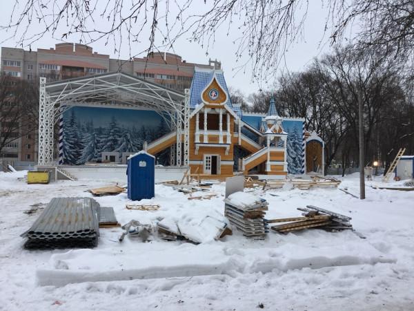 Резиденция Деда Мороза 2 февраля 2015 года (1)