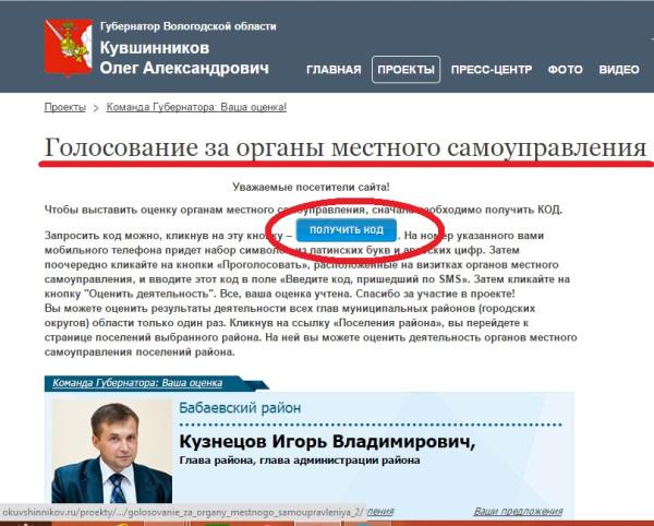 Команда губернатора Кувшинникова. Ваша оценка 2014. Органы мунвласти
