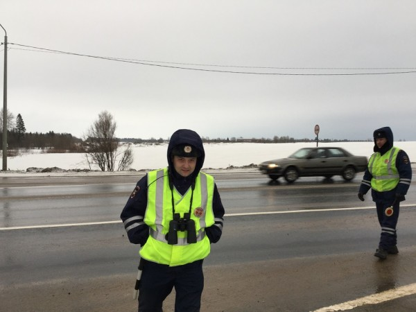 Проверка на дорогах в рамках марша Весна (2)
