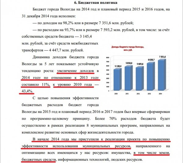 Публичный доклад Евгения Шулепова за 2014 год стр.4