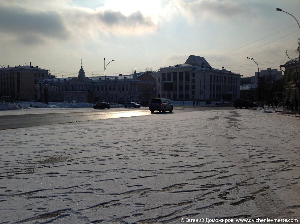 Вологда. Площадь Возрождения