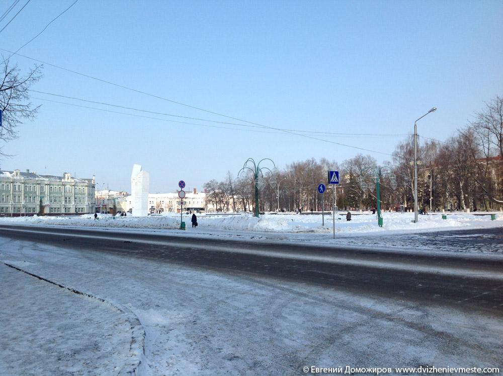 Вологда. Площадь Революции