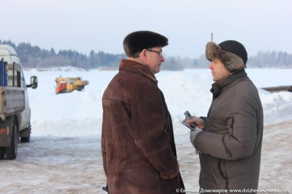 Горицы, Кирилловский район, незаконная стойка причала (32)