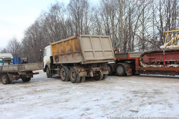 Горицы, Кирилловский район, незаконная стойка причала (36)