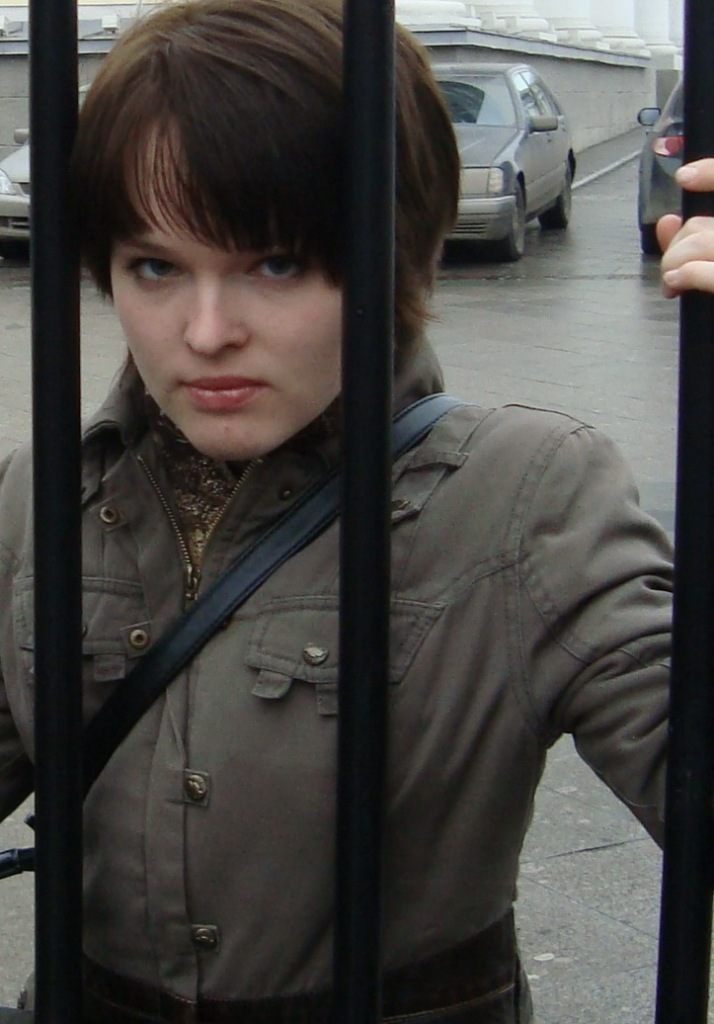 Анна Селякова за решеткой