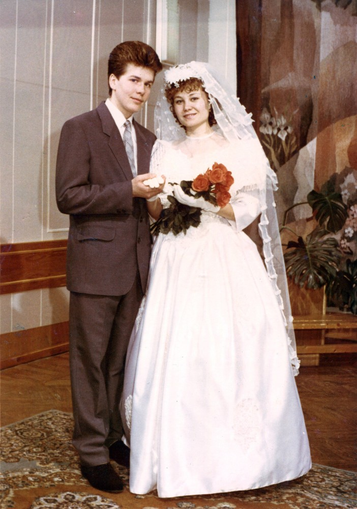 Евгений и Ольга Доможировы, свадьба