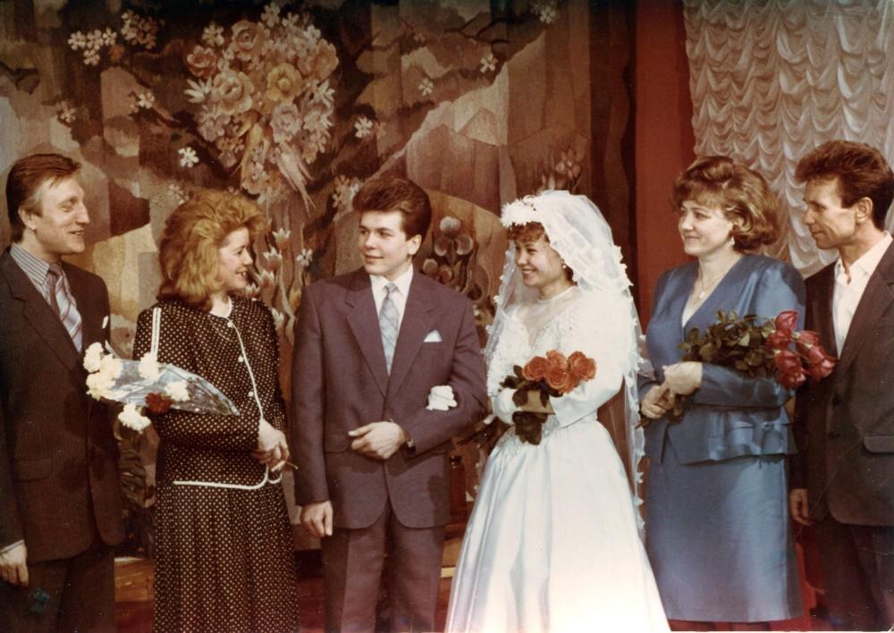 Евгений и Ольга Доможировы, свадьба (14)