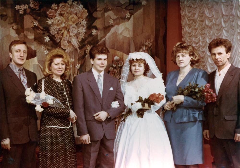 Евгений и Ольга Доможировы, свадьба (24)