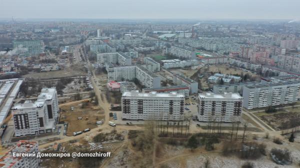 Сергей Воропанов и градоплан в Бывалово.jpg