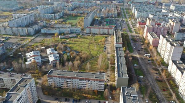 Сквер  в зелёной зоне в Бывалово..png