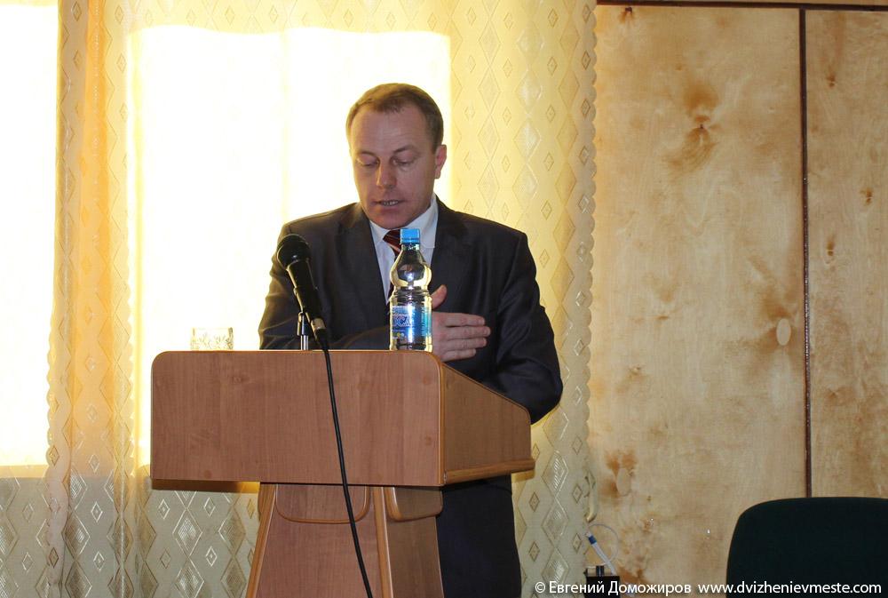 Юлин Александр Владимирович заместитель Главы администрации Кирилловского района