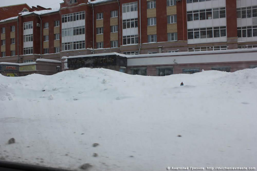 Снег на улицах Вологды на 20 марта 2013 года (2)