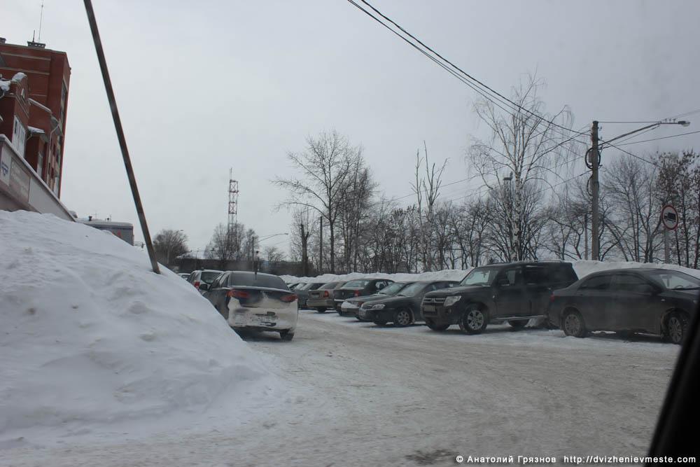 Снег на улицах Вологды на 20 марта 2013 года (3)
