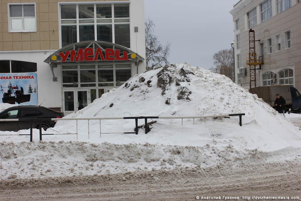 Снег на улицах Вологды на 20 марта 2013 года (4)