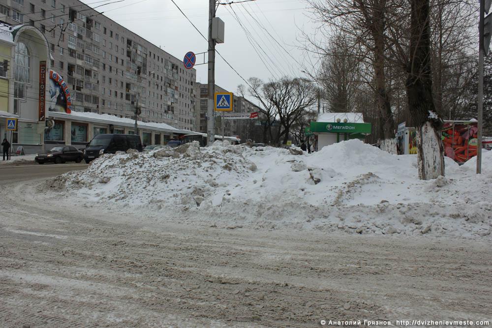 Снег на улицах Вологды на 20 марта 2013 года (6)
