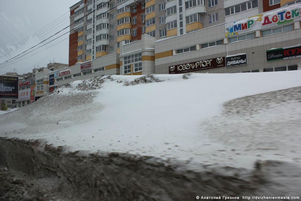 Снег на улицах Вологды на 20 марта 2013 года (7)
