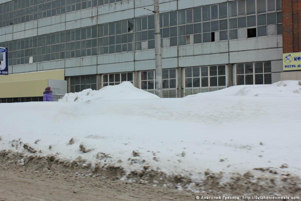 Снег на улицах Вологды на 20 марта 2013 года (13)