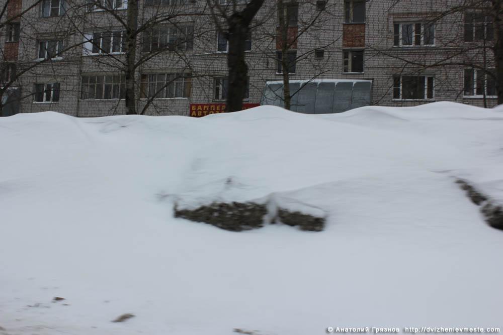 Снег на улицах Вологды на 20 марта 2013 года (18)