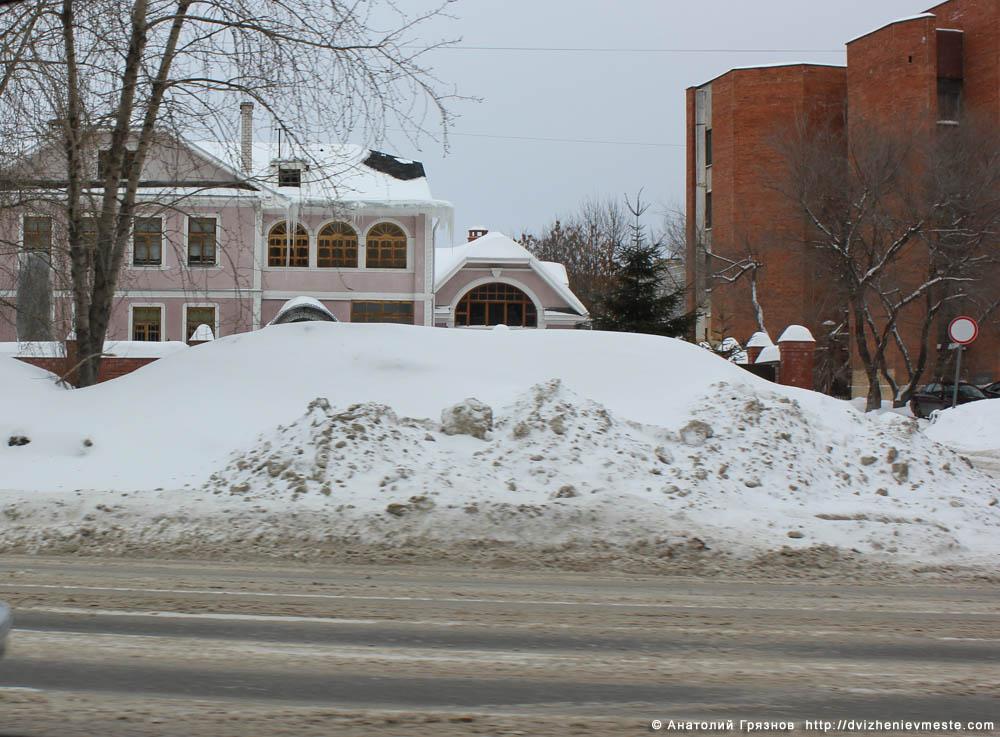 Снег на улицах Вологды на 20 марта 2013 года (20)