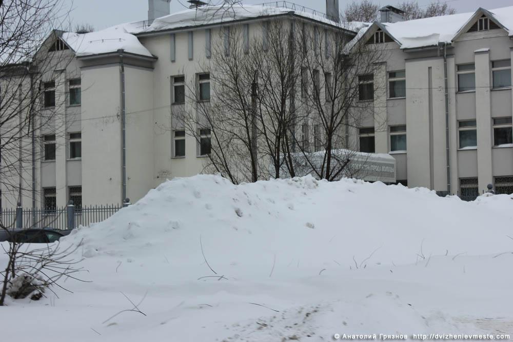 Снег на улицах Вологды на 20 марта 2013 года (22)
